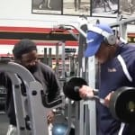 Shawn Rhoden Arm Workout 3 weeks from 2013 Mr. Olympia
