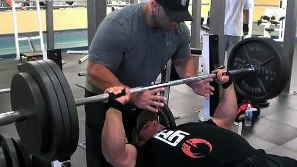 Chest Day by Fouad Abiad with Heavy D