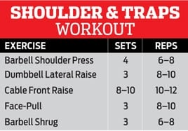 Shoulder & Trap Workout