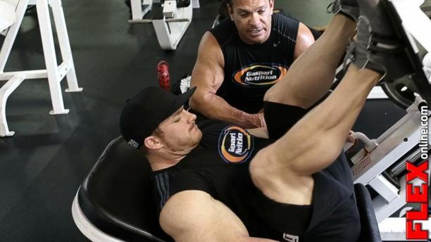 Flex Lewis Glute Workout