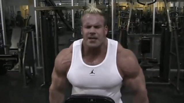Jay Cutler – Traps Workout