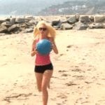 Playboy Model Heidi Montag Feature: Part 2, Workout Video