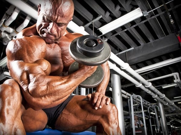 IFBB Pro Bodybuilder Michael Kefalianos