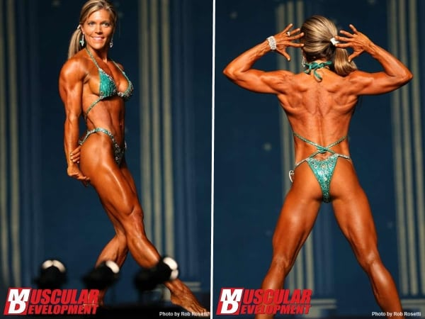 Cyberflexing.com Exclusive Interview With IFBB Pro Figure Competitor Tessa Wood Dilley