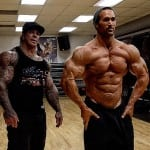 Mike O'Hearn And Rich Piana Train Arms