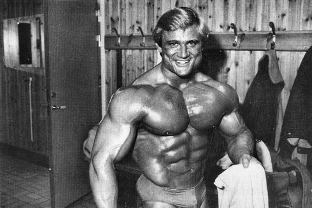 Cyberflexing com Star Profile: Tom Platz - The Golden Eagle